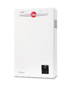 Calentador de agua Rheem instantáneo Modulante 16 L/min a gas Natural 3 servicios
