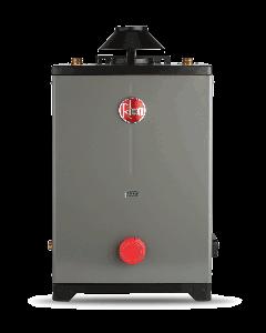 Calentador de agua Rheem de paso One 8 Lts/Min a gas LP 1 servicio plus